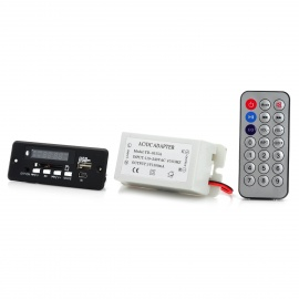 LSON-5V-MP3-Decode-Bluetooth-Amplifier-Board-w-Remote-Control-2b-ACDC-Adapter-Black-2b-White