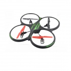 FeiLiTe 2.4GHz 4-CH Radio Control UFO with Gyro & Camera - Black + Jade Green