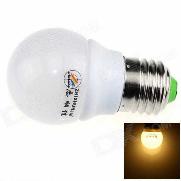 ZHISHUNJIA E27 3W 220lm 3000K 6*SMD 5630 Warm White Light Lamp Bulb