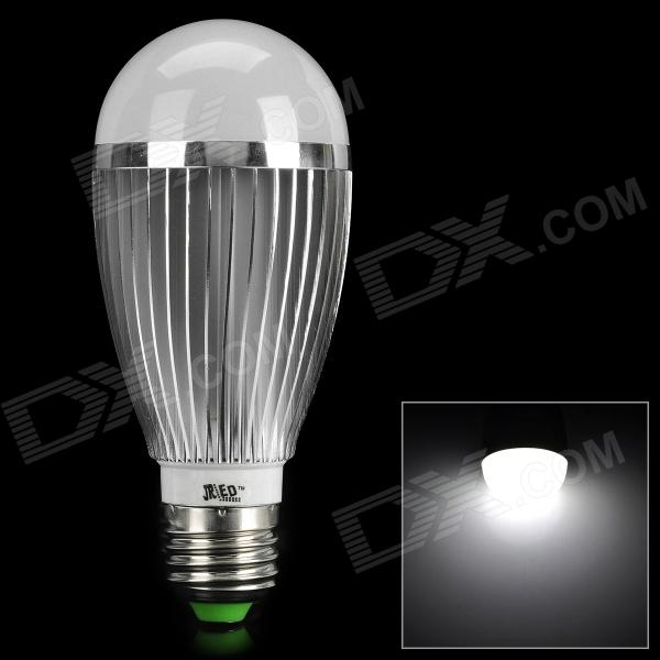JR-LED E27 7W 500lm 6000K 7-LED White Light Bulb (AC 85~265V)