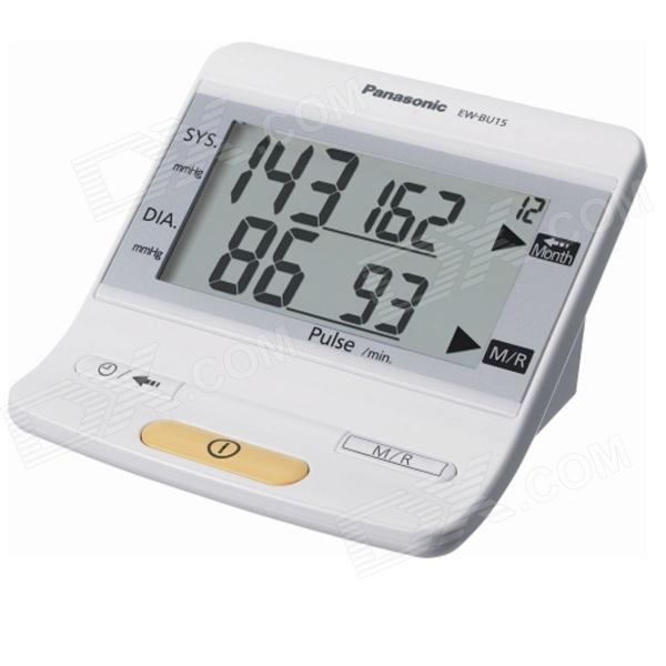 Buy Panasonic EW-BU15/W Upper Arm Blood Pressure Monitor with Litecoins with Free Shipping on Gipsybee.com