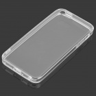 S-What Protective TPU Back Case w/ Anti-Dust Plug for IPHONE 5 / 5S - Transparent