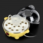 MIMIXIONG YS602 Mini Convenient 220V 350W US Plugs Egg Boiler - Yellow