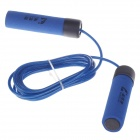 ChengDeLong Professional Skipping Rubber Steel Wire Foam Handle Jump Rope - Blue (280cm)