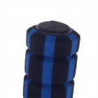 ChengDeLong Professional Exercise Skipping Jumping Abrasion Resistance Rubber Rope - Blue + Black