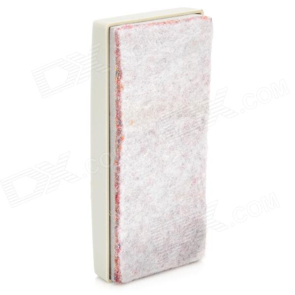 Magnetic Blackboard / White Board Eraser - White + Red