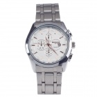 BADACE 9914 Men's Stainless Steel Quartz Wrist Watch w/ Date Display - Silver (1 x LR626)