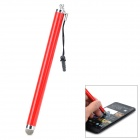 021 Capacitive Screen Stylus w/ 3.5mm Anti-Dust Plug - Red