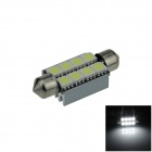 Canbus Festoon 39mm 2W 120lm 8 x SMD 5050 LED White Car Roof light / Reading Lamp w/ Heat Sink (12V)