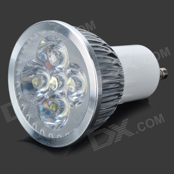 GU10 5W 500lm 5 x SMD 6063 LED Cold White Light Lamp (95~245V)