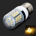 FengYang E27 3W 90lm 3000K 48 x SMD 3528 LED Warm White Light Lamp Bulb w/ Acrylic Cover - (AC 220V)