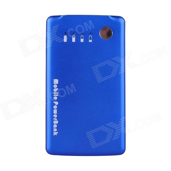 Mikasso Universal 3500mAh Mobile Power Source Bank for IPHONE / Samsung + More - Blue