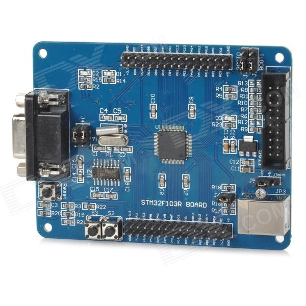 ARM Cortex-M3 STM32F103RBT6 STM32 Development Board - profondo blu
