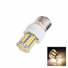E27 2.5W 160lm 2500K 27 x SMD 5050 LED Warm White Light Lamp Bulb - White (AC 220~240V)