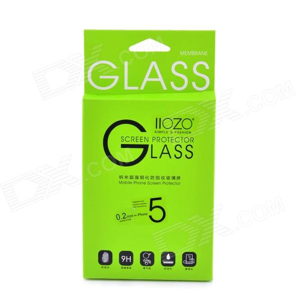 2.5D 0.2mm Premium Tempered Glass Membrane Screen Protector for IPHONE 5 - Transparent
