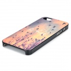 Protective Embossed Swallow Pattern Plastic Case for IPHONE 5