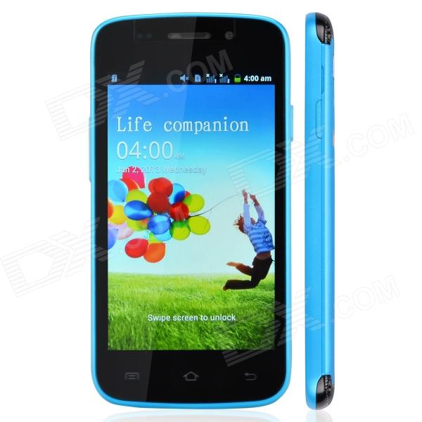 HTM H9295 Capacitive Touch Screen Android 2.3 Bar Phone w/ Wi-Fi / Bluetooth - Sky Blue