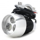 12W 855lm 3-LED White Light Motorcycle Lamp (12~85V)