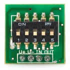 3.3V-18V 10s~24h Timing Switch Control Module - Black + Green