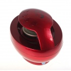 Rechargeable Bluetooth V2.1 Wireless Speaker w/ TF/ Hands-free - Red