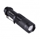 RichFire SF-118B 800LM 5-Modo Zoom Focus LED Flashlight Mini - Negro (1 x 18650)