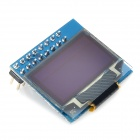 "0.96"" OLED High Clear Module Board w/ 6800 / 8080 / SPI / IIC Interface - Blue"