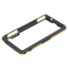 Protective PC TPU Bumper Frame for Sony Xperia Z1 Compact / Mini - Black + Yellow
