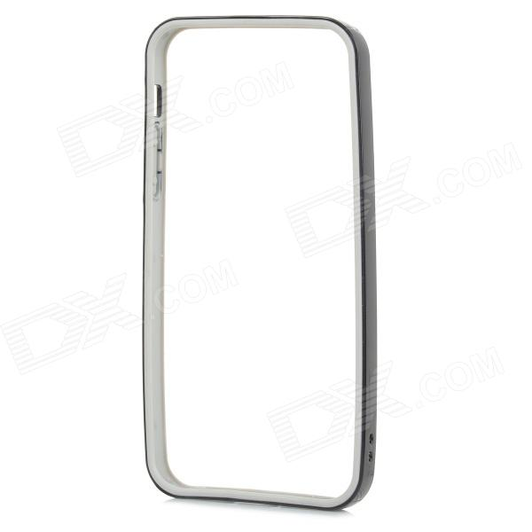 Protective TPU + PC Bumper Frame for IPHONE 5 / 5S - Black + Grey