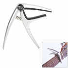 Flanger FC-01 Zinc Alloy Capo for Acoustic / Electric Guitar - Silvery White + Black