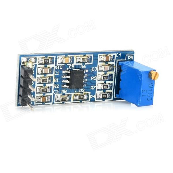 LM358 100-Time Signal Amplification Module - Deep BlueBoards &amp; Shields<br>BrandN/AModelLM358Quantity1 PieceColorDeep BlueMaterialCopper clad + componentsEnglish Manual / SpecYesPacking List1 x LM358 signal amplification module<br>