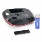 JEWAY JM1270 USB 2.0 2.4G Wireless Power Saving Mouse for Tablet PC - Black + Red (1 x AA)