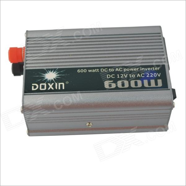 DOXIN-600W-Car-DC-12V-to-AC-220V-Power-Inverter-Silver