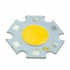 KindFire DQ-20 5W 400lm 3500K COB LED Warm White Light Source Module - White + Yellow (15~16V)
