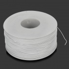 DIY 0.5mm Heat Resistant Guid Line Wire for Cellphone / Tablet PC / Laptop / TV PCBA - White (250m)