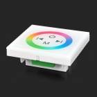 Glass LED Touch Control Panel - White