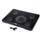 "Shunzhan SZ550 USB 2.0 Cooling Pad 5-Fan Cooler for 14""~17"" Notebook / Laptop - Black"