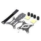 2-in-1 Vibration Damper Plate Expansion Stand for DJI Phantom - Black + White + Multi-Colored