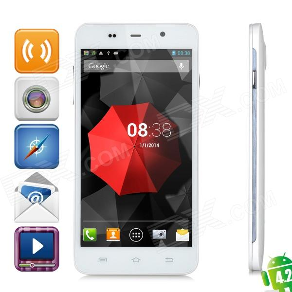 "THL W200S Octa-Core Android 4.2 WCDMA Bar Phone w/ 5.0"" IPS, Wi-Fi, GPS, RAM 1GB and ROM 32GB"