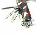 Multifunctional 11-in-1 Stainless Steel Knife - Camouflage