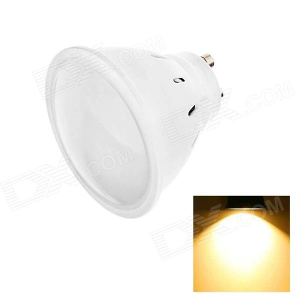 GU10 3W 110lm 2700K 10 x SMD 2835 LED Warm White Light Lamp Bulb - White (AC 220~240V)