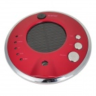 Solar Energy Powered Healthy Anion Humidifier - Red + Silver