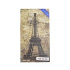 HH-4 Eiffel Tower Style Striae Protective Screen Protector Film for IPHONE 4 / 4S - Grey