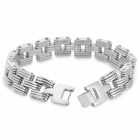 SHIYING Sl0082 316L Stainless Steel Bracelet - Silver