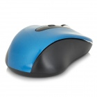 Promi MF-316 2.4GHz Wireless Optical 6-Button 1600DPI Mouse - Blue + Black (2 x AAA)