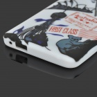 Graffiti Flag of Australia & Sydney Opera House Style Protective TPU Case for HTC One M7 - White