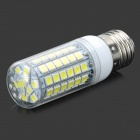 E27 7W 600lm 69-SMD 5050 LED Cold White Light Bulb (AC 220~240V)