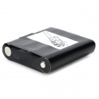 MAXUSS 4.8V 800mAh batterie rechargeable ni-mh pour interphone motorola - noir + blanc