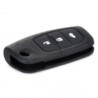 Silicone Protective Key Cover for Ford - Black