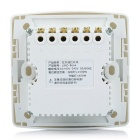 86 Wall Plate 4-CH IR Wireless Remote Control Section Switch - White