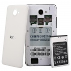 "KIMI H928 Octa-Core MTK6592 Android 4.2.2 WCDMA Bar Phone w/ 5.0"" IPS, 12.6 MP Camera - White +Black"